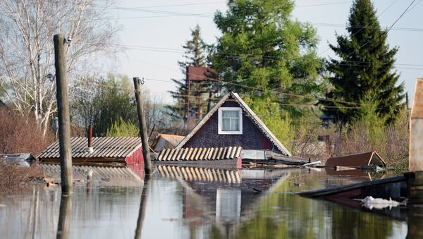 Паводок в Тюменской области - Sputnik Латвия