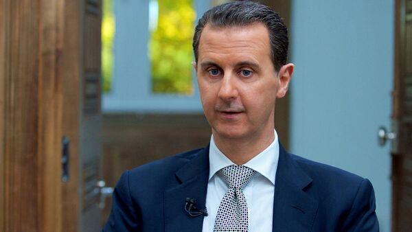 Президент Сирии Башар Асад - Sputnik Латвия