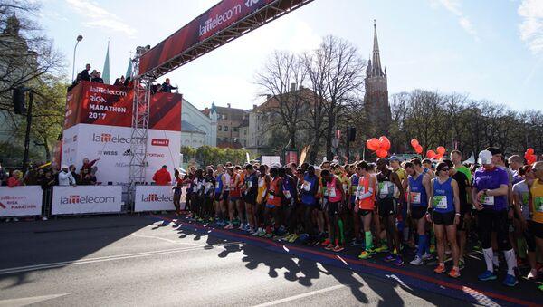 В Риге стартовал ежегодный марафон Lattelecom - Sputnik Latvija