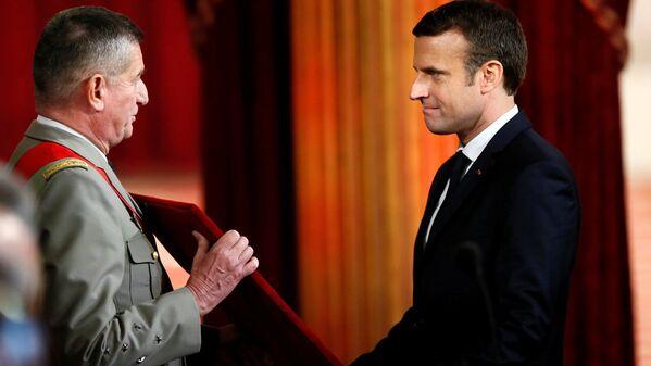 Инаугурация избранного президента Франции Эммануэля Макрона - Sputnik Латвия