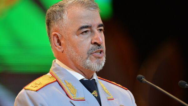 Министр внутренних дел по Чеченской Республике Руслан Алханов - Sputnik Latvija