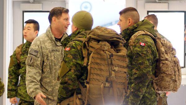 Kanādas karavīri. Foto no arhīva - Sputnik Latvija