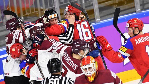 Хоккей. Чемпионат мира. Матч Россия - Латвия - Sputnik Латвия