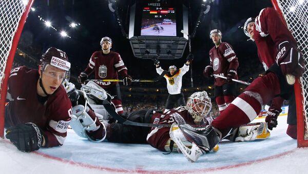 Хоккей. Чемпионат мира. Матч Германия – Латвия - Sputnik Latvija