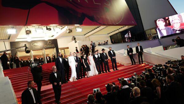 Знаменитости на открытии Каннского фестиваля - Sputnik Латвия