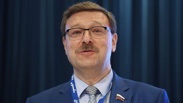 Председатель комитета Совета Федерации по международным делам Константин Косачев - Sputnik Латвия