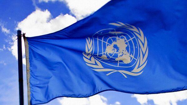 Флаг Организации объединенных наций - Sputnik Латвия