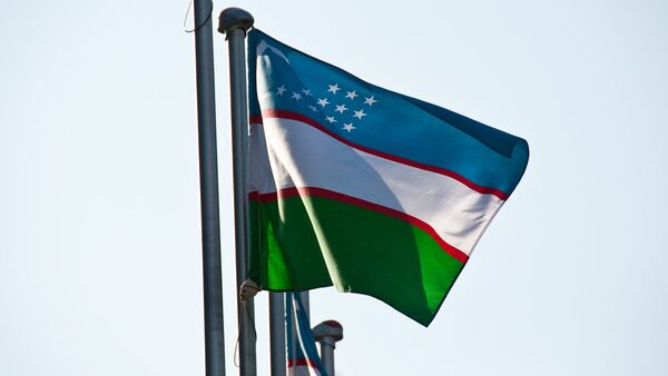 Флаг Узбекистана - Sputnik Латвия