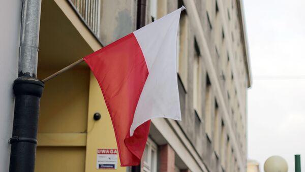 Polijas karogs. Foto no arhīva - Sputnik Latvija