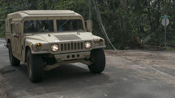 Американский армейский внедорожник Humvee - Sputnik Latvija
