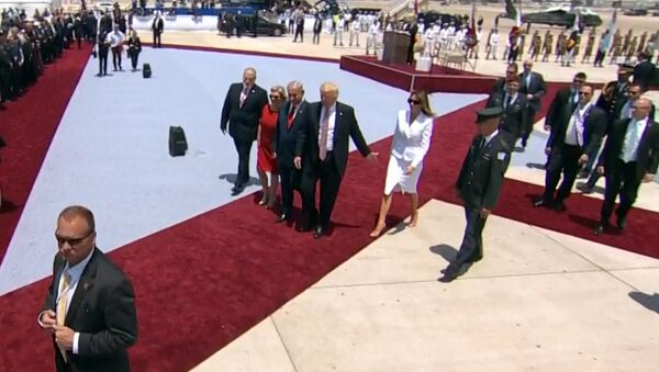 Дональд и Мелания Трамп - Sputnik Латвия