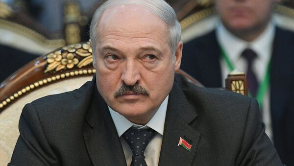 Президент Белоруссии Александр Лукашенко - Sputnik Latvija