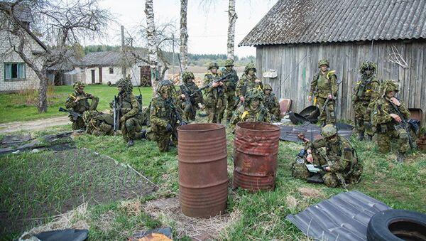 Учения Весенний шторм в Эстонии - Sputnik Latvija
