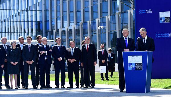 Саммит НАТО в Брюсселе, 25 мая 2017 - Sputnik Латвия