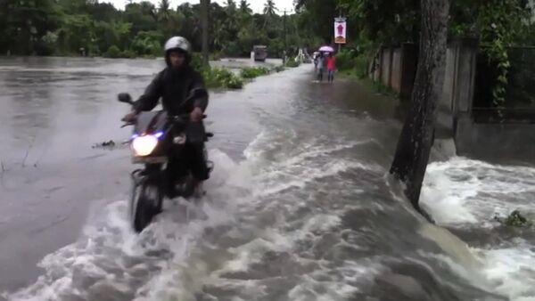 Наводнение в Шри-Ланке - Sputnik Латвия