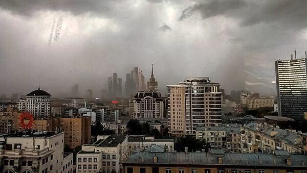 Ураган в Москве - Sputnik Латвия