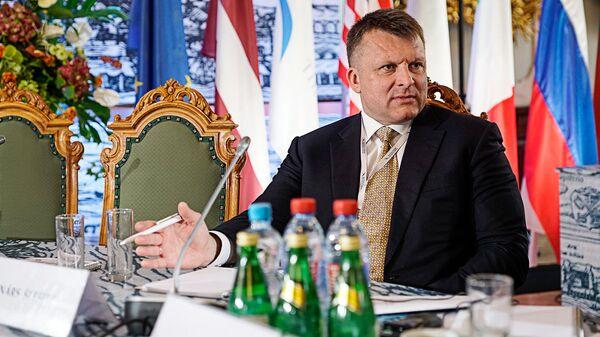 Айнарс Шлесерс на Балтийском форуме - Sputnik Латвия