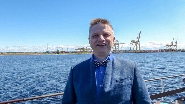 Генеральный директор исследовательского агентства Infranews Алексей Безбородов - Sputnik Латвия