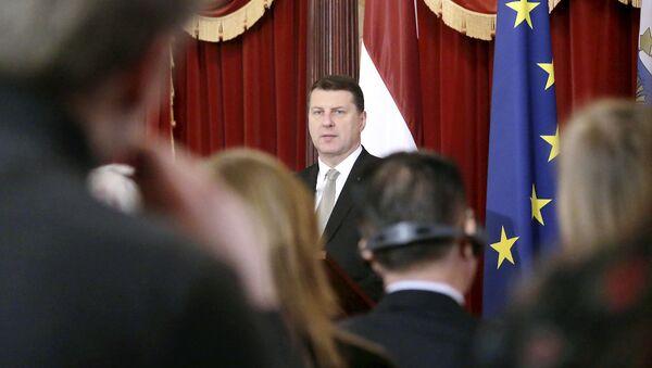 Президент Латвии Раймондс Вейонис - Sputnik Latvija