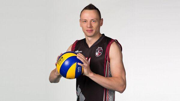 Латвийский волейболист Денис Петров - Sputnik Латвия