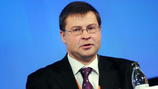 Latvijas bijušais premjerministrs Valdis Dombrivskis - Sputnik Latvija