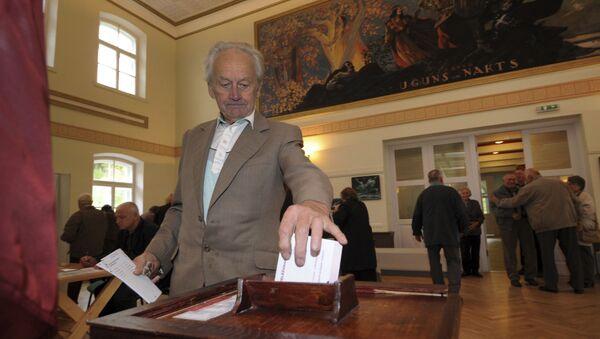 Выборы в Латвии, архивное фото - Sputnik Латвия