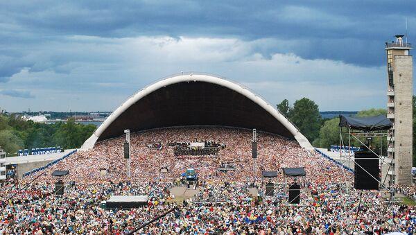 Праздник песни в Эстонии, архивное фото - Sputnik Латвия