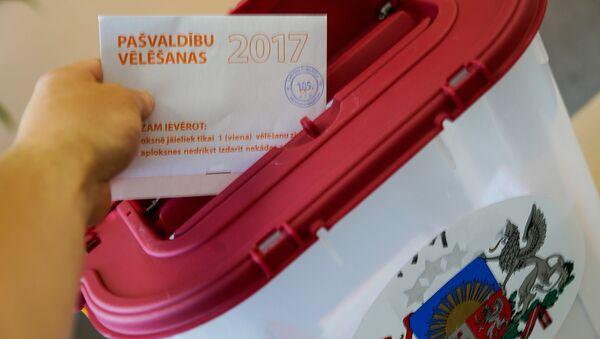 Муниципальные выборы в Риге 2017 - Sputnik Латвия