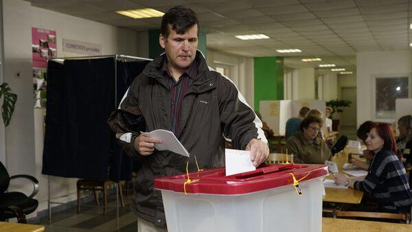 Голосование на выборах в местные самоуправления - Sputnik Latvija