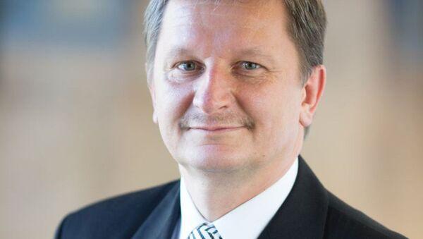 Генеральный консул Литовской республики в Казахстане Рягимантас Яблонскас - Sputnik Латвия