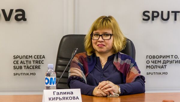 Галина Кирьякова - Sputnik Латвия