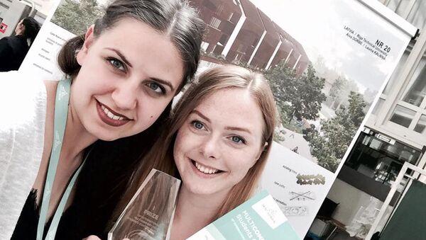 Победители конкурса Isover Students Contest 2017 - Sputnik Латвия