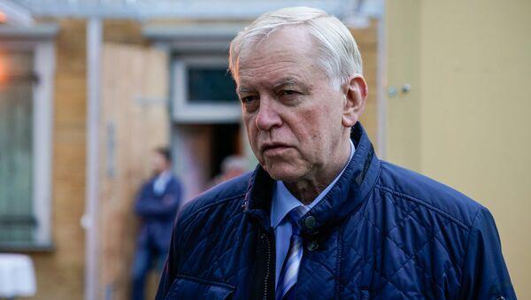 Аугуст Бригманис председатель парламентской фракции Союза зеленых и крестьян - Sputnik Латвия