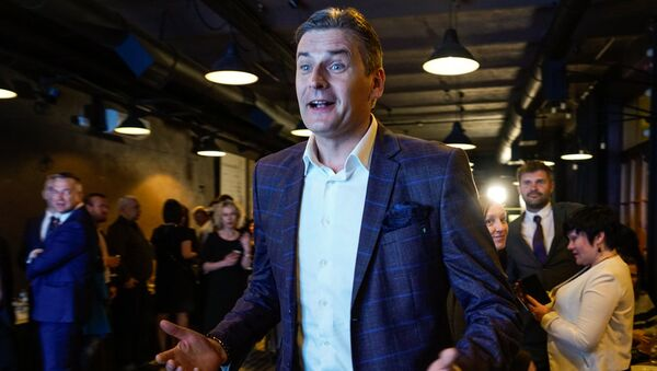 Мартиньш Бондарс, лидер списка на выборах в самоуправления 2017 года от Регионального объединения - Sputnik Латвия