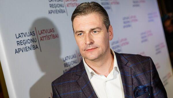 Мартиньшс Бондарс, лидер списка Латвийское объединение регионов/«Для развития Латвии» - Sputnik Латвия
