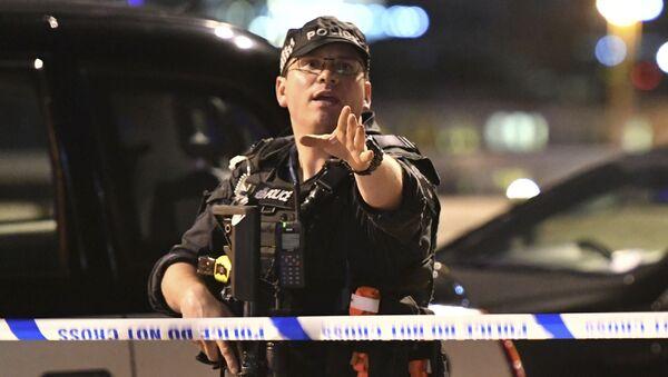 Ночной теракт в Лондоне - Sputnik Латвия