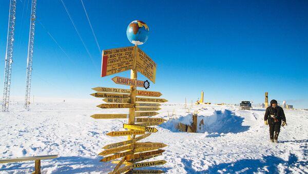Советская научно-исследовательская станция Восток в Антарктиде - Sputnik Latvija