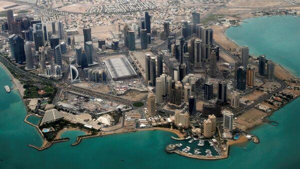 Дипломатический район города Доха, Катар - Sputnik Latvija