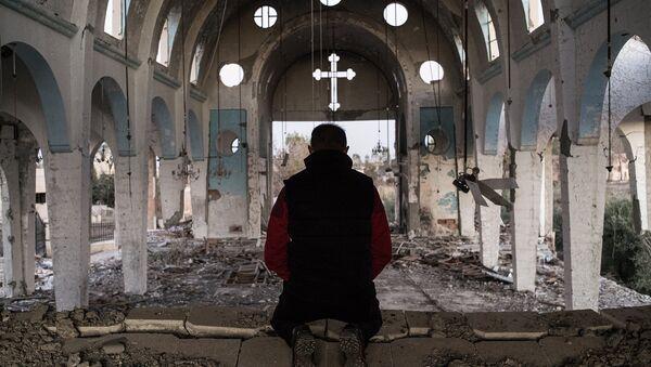 Осколки разбитой тишины, фоторепортаж из Сирии - Sputnik Латвия