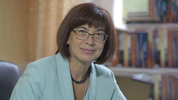 Доктор исторических наук Оксана Петровская - Sputnik Латвия