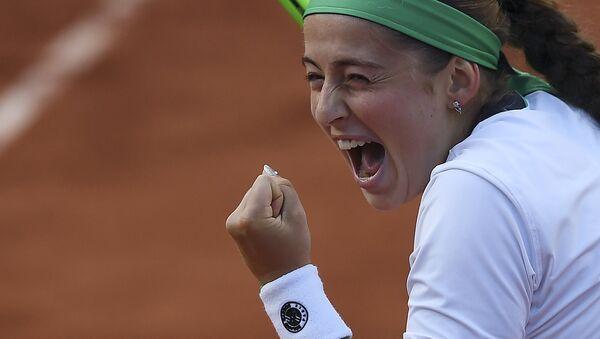 Елена Остапенко на Roland Garros - Sputnik Латвия