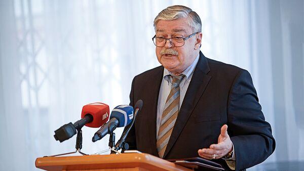 Krievijas vēstnieks Latvijā Jevgeņijs Lukjanovs - Sputnik Latvija