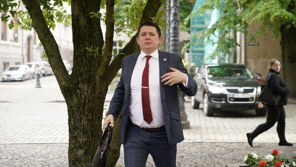 Депутатам Сейма напомнили о высказываниях Шноре, Артус Кайминьш - Sputnik Латвия