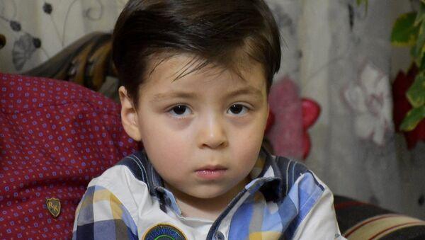 Омран Дакниш сирийский мальчик из Алеппо - Sputnik Латвия