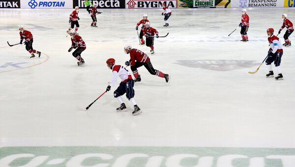 Хоккей с мячом. Чемпионат мира. Матч Латвия - Норвегия - Sputnik Латвия