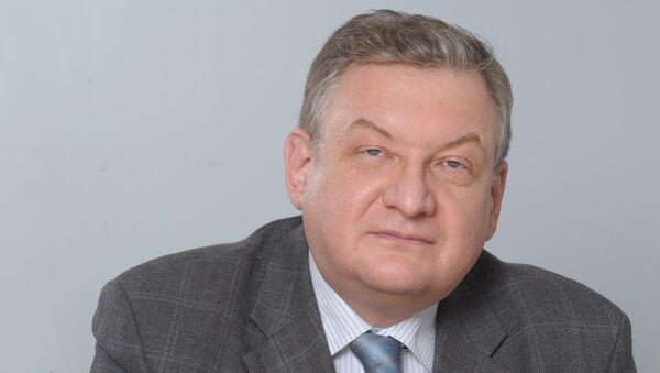 Проректор Финансового университета при Правительстве РФ Алексей  Зубец - Sputnik Латвия