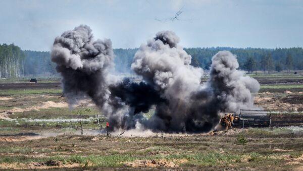 Военные учения Saber Strike 2017 - Sputnik Латвия