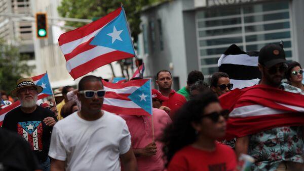 Puertoriko referendumā atbalsta iekļaušanos ASV sastāvā - Sputnik Latvija