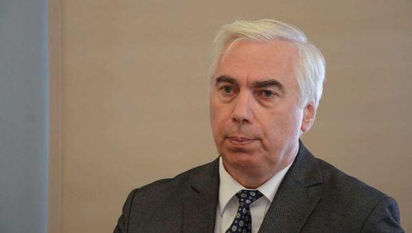 Координатор Совета общественных организаций Латвии Виктор Гущин - Sputnik Латвия