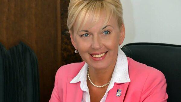 Экс-мэр Даугавпилса, председатель Ассоциации деловых женщин Латгалии Жанна Кулакова - Sputnik Латвия